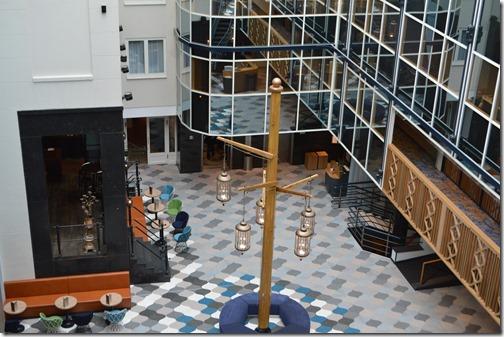 Rad Blu lobby