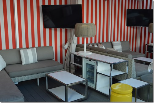 SLS Pool Cabana closeup