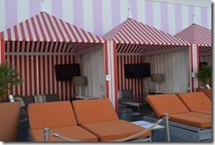 SLS pool cabanas