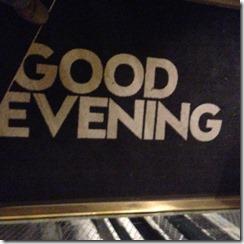 W AMS Good Evening