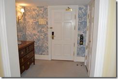 Amstel Hotel Room door