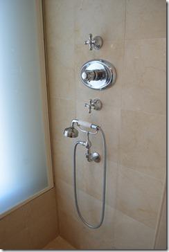 Amstel Hotel shower-window