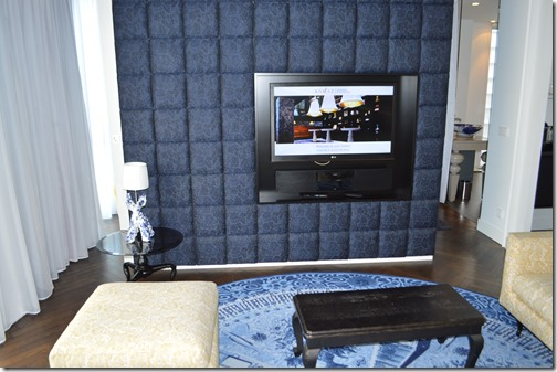 Andaz Suite-TV wall