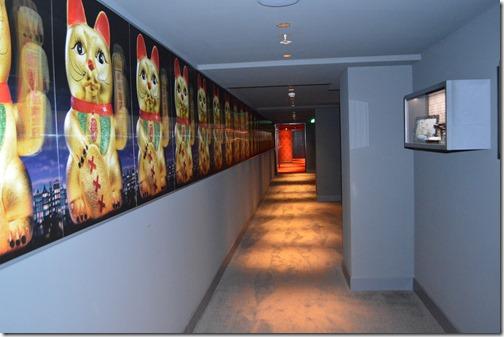 Andaz spa hallway