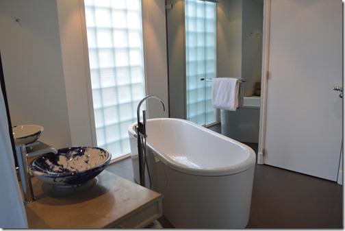Andaz suite bath