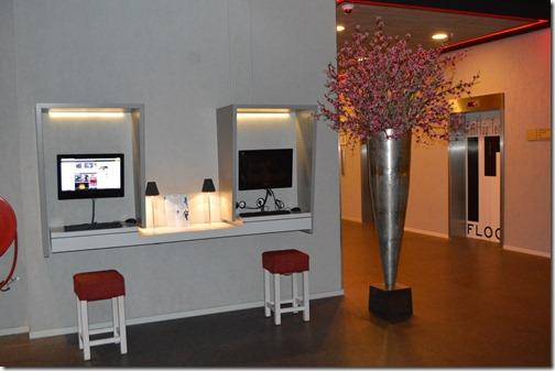 Ramada lobby computers