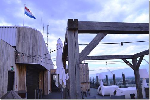 Ramada rooftop flag