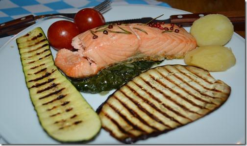 Cafe salmon