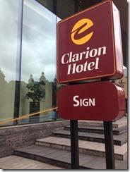 Clarion Hotel Sign Stockholm