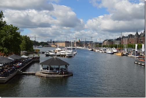 Djurgarden Bridge view
