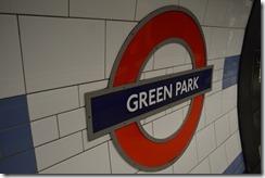 Green Park Tube