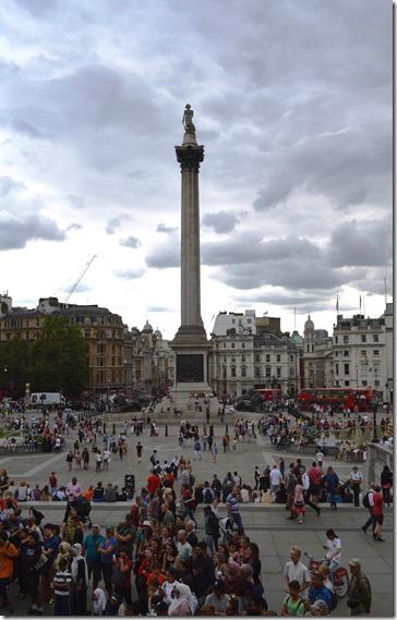 Nelson's Column - brighter