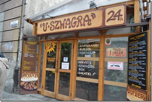 U-Szwagra Burgers-Pizza