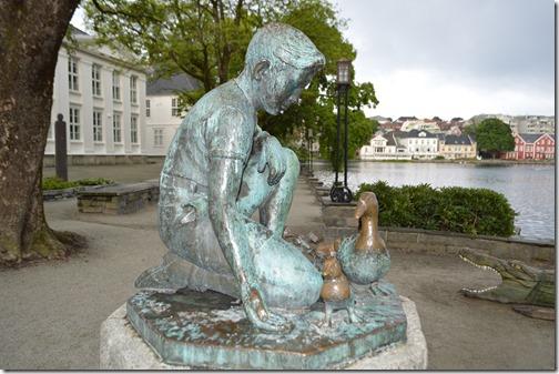 Byparken statue