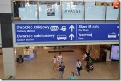 Galeria train signs