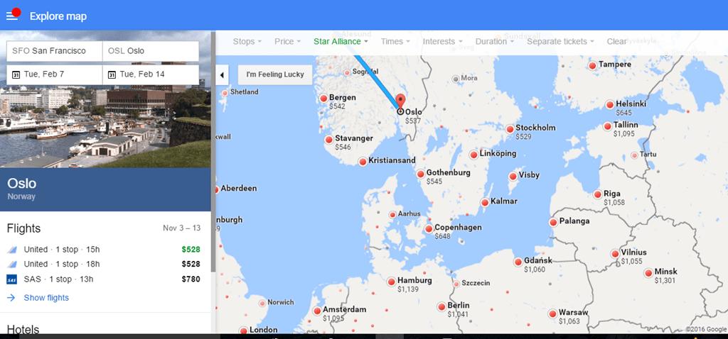 Sas San Francisco To Norway Or Sweden 528 544 Round Trip