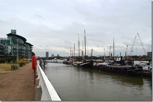 Thames view east