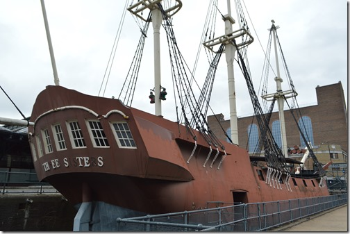 Tobacco Dock ship