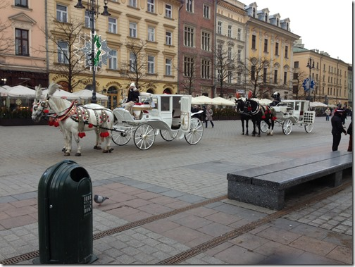 Krakow horse carriages