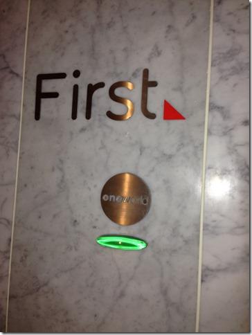 LAX Qantas First Lounge