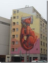 Mural fox