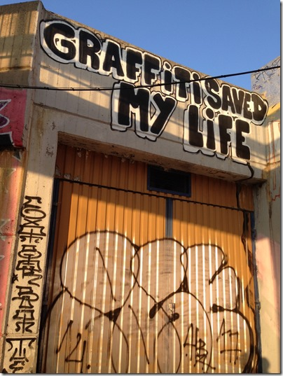 Graffiti Saved my Life