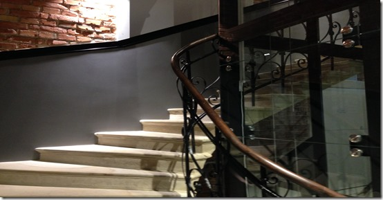 Hotel Indigo stairs