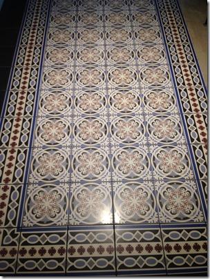 Krakow Indigo tiles floor