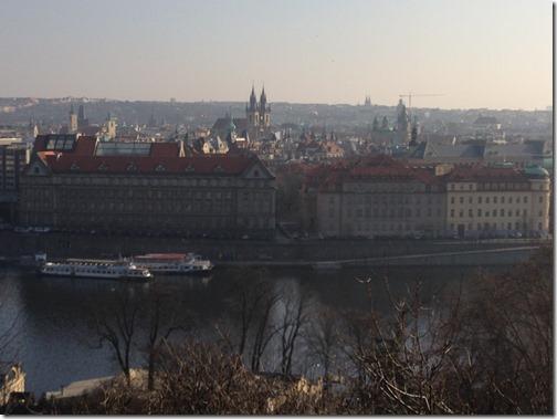 Prague Old Town view