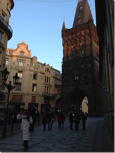 Prague tower gate-2