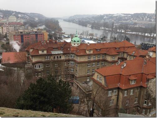 Vysehrad Vltava view