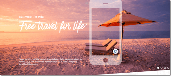 Marriott Travel for Life