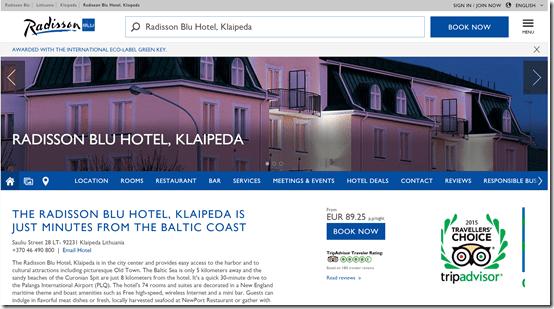 Rad Blu Klaipeda