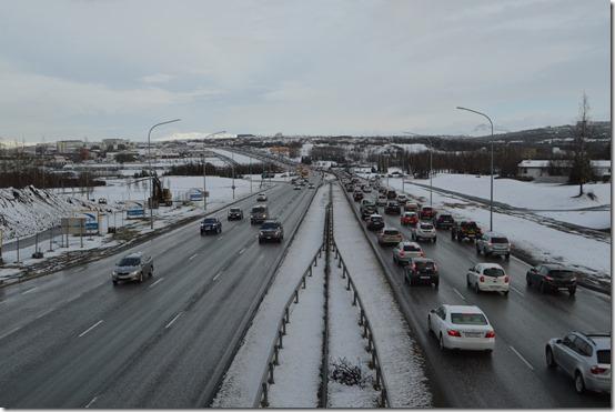 Reykjavik traffic