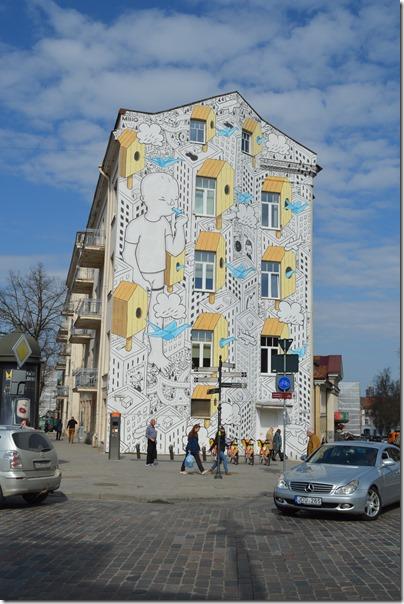 Vilnius mural