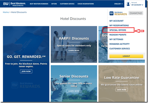 Best Western Special Offers