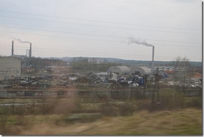 Kaunas smokestacks