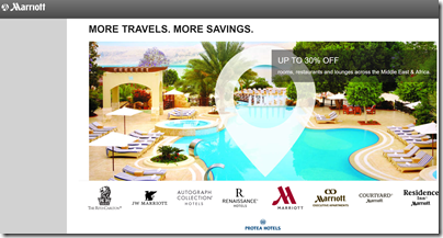Marriott Africa summer 2017 promo
