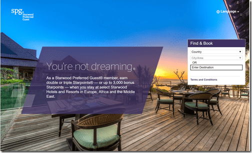 SPG Earn Your Dreams EMEA 2x-3x