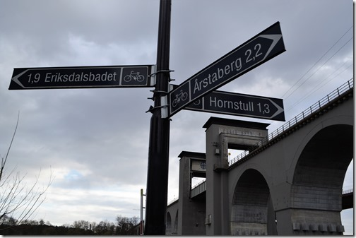 Stockholm Trail Signs