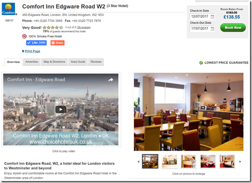 Choice London Comfort Edgeware