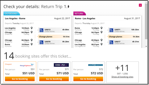 LAX-FCO $551 UA-ota Aug22-31