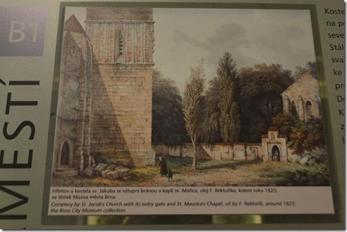 Brno St. James Church 1824