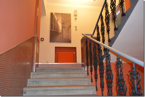 Clarion Prague City stairs