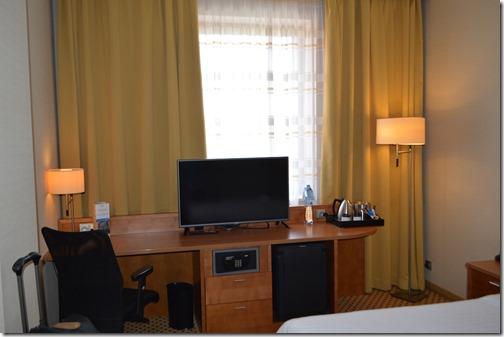 Marriott Plzen desk