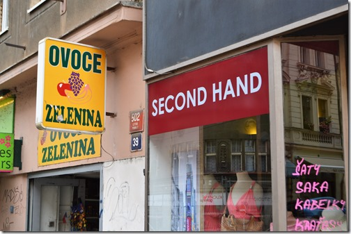 Prague Holesovice-Letna shops