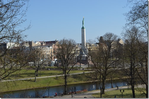 Riga city view