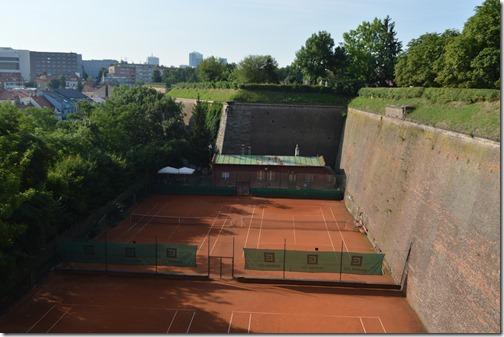 Vysehrad wall-1