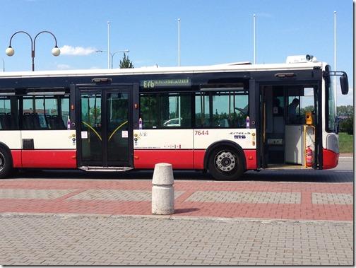 Brno Airport E76 bus