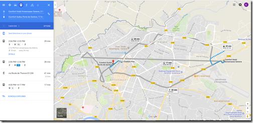 Google Maps annemasse choice hotels